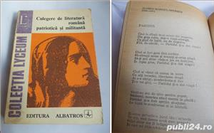 Culegere de literatura romana patriotica si militanta - imagine 1