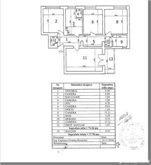 Vanzare apartament 4 camere Domenii - Stalpeanu - imagine 11