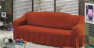 Husa pentru canapea de 2 locuri - Caramiziu - imagine 1