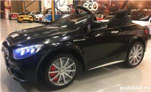 Masina Electrica Mercedes S63 Pentru Copii New 2019 - imagine 7