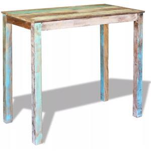 vidaXL Masă de bar, lemn reciclat de esență tare, 115x60x107 cm 243453 - imagine 1