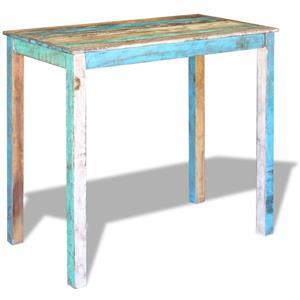 vidaXL Masă de bar, lemn reciclat de esență tare, 115x60x107 cm 243453 - imagine 2