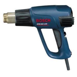 Pistol cu aer cald Bosch GHG 660 LCD, 2300 W, 650 Grade + set accesorii Extra - imagine 5