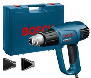 Pistol cu aer cald Bosch GHG 660 LCD, 2300 W, 650 Grade + set accesorii Extra - imagine 1
