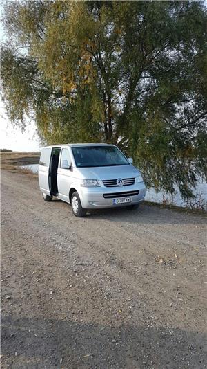 Inchirieri  microbuz van  bus for rent vw t5 caravelle 8 locuri - imagine 3
