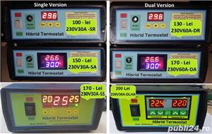 Rezistenta (cablu) incalzire rasadnita + Hibrid Termostat electronic digital 230V30A-SR - imagine 6