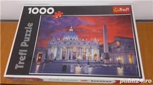 Puzzle Trefl Basilica San Pietro din Roma-1000 piese  - imagine 5