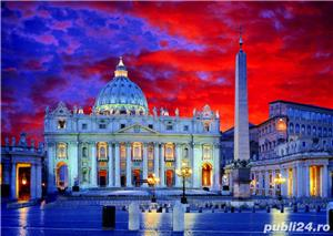 Puzzle Trefl Basilica San Pietro din Roma-1000 piese  - imagine 4
