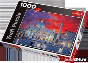Puzzle Trefl Basilica San Pietro din Roma-1000 piese  - imagine 6