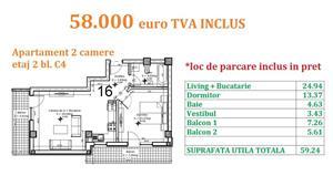Apartament 2 camere Otopeni central  - imagine 17