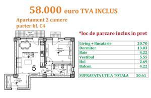 Apartament 2 camere Otopeni central  - imagine 13