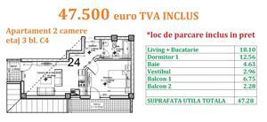 Apartament 2 camere Otopeni central  - imagine 20
