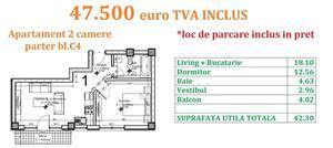Apartament 2 camere Otopeni central  - imagine 10