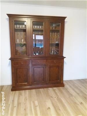 Mobila sufragerie din lemn masiv - imagine 1