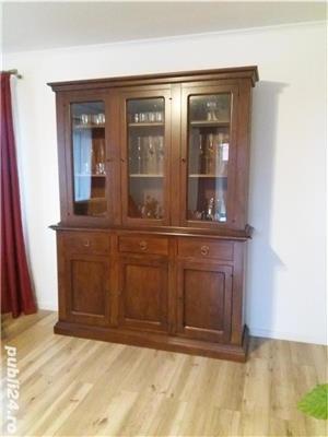 Mobila sufragerie din lemn masiv - imagine 2