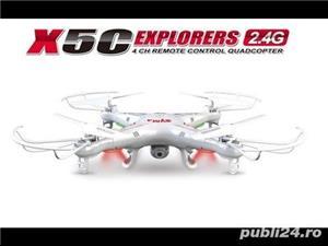 Drona X5c-1 Quadcopter 4CH Camera Video 2MP Gyro 6 Axe - imagine 13