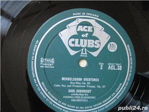 vinil /vinyl Mendelssohn Overtures - conductor  Carl Schuricht 1959,made UK - imagine 2