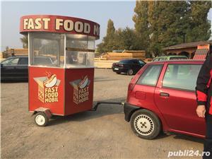 Vând mini rulota Fast food - imagine 4