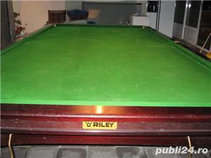 masa snooker Riley 10 - imagine 1