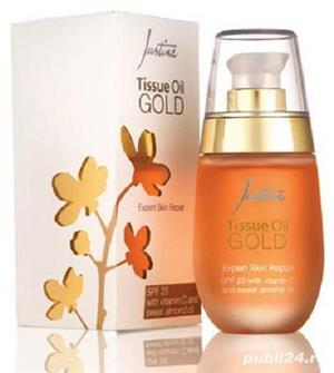Justine Tissue Oil-reduce vergeturile,petele si cicatricile - imagine 1