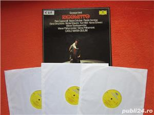 vinil 3xLP Verdi- Rigoletto -Ileana Cotrubas,Plácido Domingo-impecabil - imagine 3