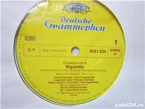 vinil 3xLP Verdi- Rigoletto -Ileana Cotrubas,Plácido Domingo-impecabil - imagine 5