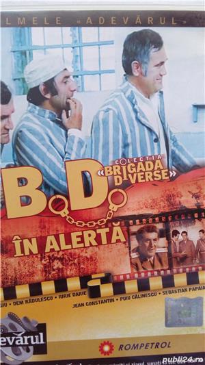 Vand colectia cu filme Brigada diverse - imagine 2