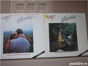 vinil Heartbreak Sixties+Folk Hits of The Sixties-Baby Boomer Classics - imagine 1