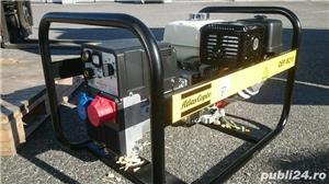 INCHIRIEZ Generator de curent Atlas Copco cu aparat sudura inclus QEP W210, 5500W, trifazic,  - imagine 2