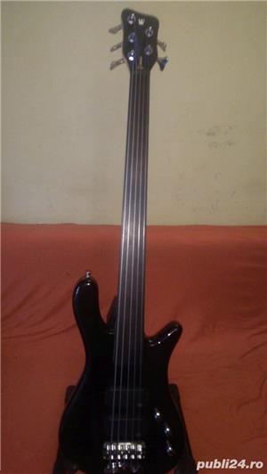 Bass Fretless 5 corzi Warwick - imagine 1