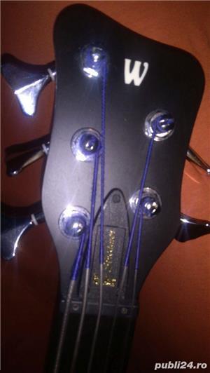 Bass Fretless 5 corzi Warwick - imagine 5