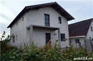 Agigea - Podul Apolodor, casa P+M, 4 camere, la rosu - imagine 1
