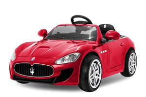 Kinderauto Maserati Kids 2x 35W PREMIUM, USB, Radio, Garantie, #Rosu - imagine 2