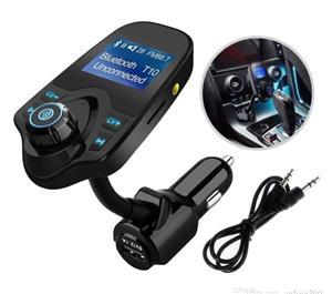 Car Kit Auto Functie de modulator FM ,Bluetooth T10 - imagine 7