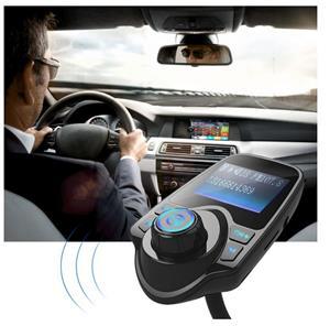 Car Kit Auto Functie de modulator FM ,Bluetooth T10 - imagine 6