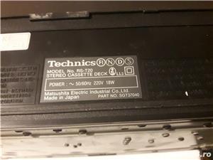 Stereo double cassette DECK RS-T20  - imagine 6