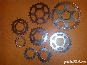 50 ron - 8 pinioane pt. caseta bicicleta  - imagine 7