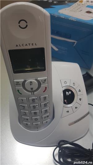 Vand telefon fix wireless Alcatel,cu robot - imagine 1