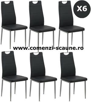 Set 6 scaune de bucatarie TRANSPORT GRATUIT - imagine 5