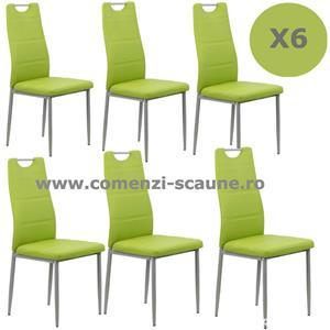 Set 6 scaune de bucatarie TRANSPORT GRATUIT - imagine 1