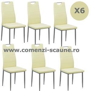 Set 6 scaune de bucatarie TRANSPORT GRATUIT - imagine 2