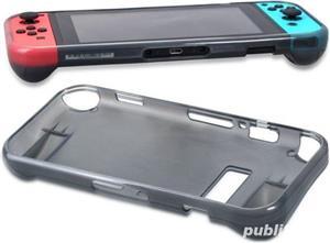 Nintendo Switch - Husa antisoc & grip , material TPU , noua - imagine 4