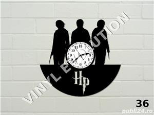 Ceas de perete din vinil Harry Potter - model 1 - imagine 1