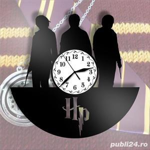 Ceas de perete din vinil Harry Potter - model 1 - imagine 3