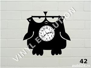 Ceas de perete fuuny - Angry Birdie - imagine 1