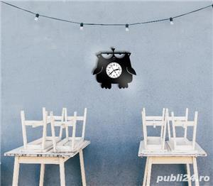 Ceas de perete fuuny - Angry Birdie - imagine 2