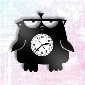 Ceas de perete fuuny - Angry Birdie - imagine 3