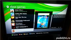 xbox 360 ,37 jocuri,fifa 18 ,gta 5  - imagine 7