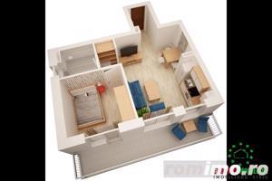 Ansamblu imobiliar nou apartament cu 2 camere  - imagine 3