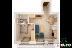 Ansamblu imobiliar nou apartament cu 2 camere  - imagine 4